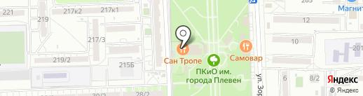 Monaco на карте Ростова-на-Дону
