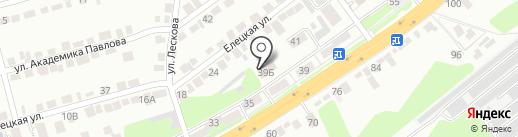 Липецкий областной художественный музей на карте Липецка