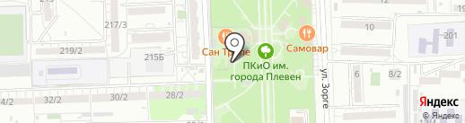 Платный туалет на карте Ростова-на-Дону