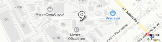 Технострой на карте Липецка