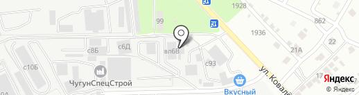 Интерпласт на карте Липецка