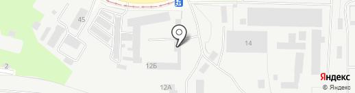 Гранд на карте Липецка