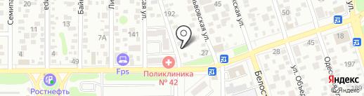 Ариадна на карте Ростова-на-Дону
