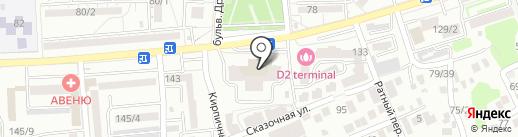 Здоровые дети на карте Ростова-на-Дону