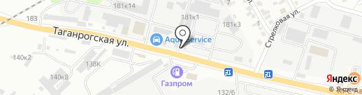 Танаис на карте Ростова-на-Дону