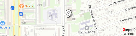 Атмосфера на карте Ростова-на-Дону