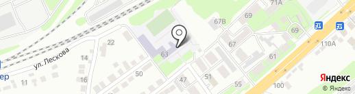 Правобережный на карте Липецка