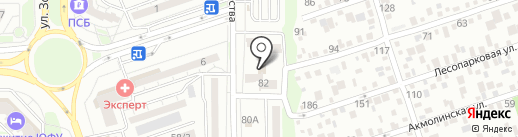 Толпар-Рнд на карте Ростова-на-Дону