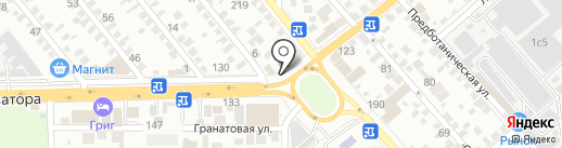 РостовДонАКБ на карте Ростова-на-Дону