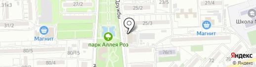 Королевство игрушек на карте Ростова-на-Дону