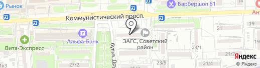 Мед-магазин.ру на карте Ростова-на-Дону