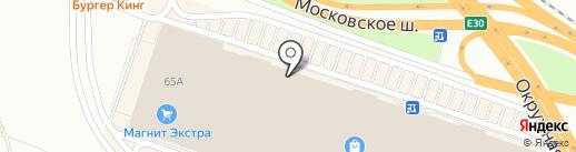 Батут Комплект на карте Рязани