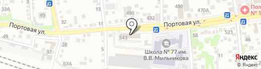 ДАР-МЕБЕЛЬ на карте Ростова-на-Дону