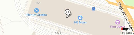 Шеллак бар Екатерины Ноготковой на карте Рязани