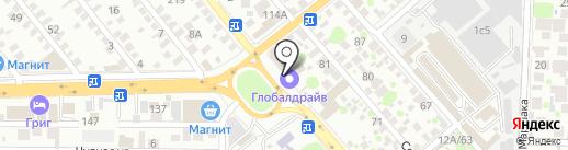 Кузнечная лавка на карте Ростова-на-Дону