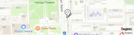ЮРИСТ ДОНА на карте Ростова-на-Дону