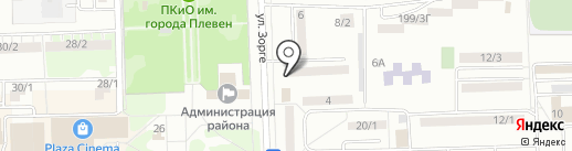 Адвокатский кабинет Флоровой Л.Л. на карте Ростова-на-Дону