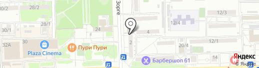33 курицы на карте Ростова-на-Дону