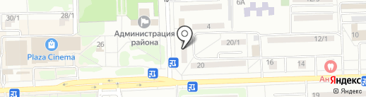 ЕвроДон на карте Ростова-на-Дону