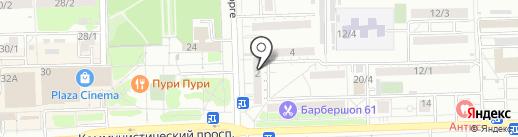 СТРОЙДЕЛО на карте Ростова-на-Дону