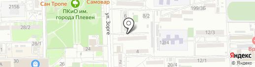 Адвокатский кабинет Чегнарева А.В. на карте Ростова-на-Дону