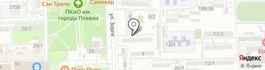 Школа развития памяти и интеллекта на карте Ростова-на-Дону
