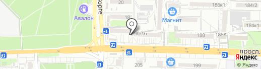 Катеринс маркет на карте Ростова-на-Дону