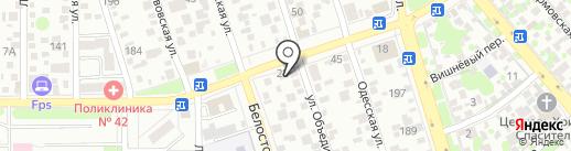 СтройМаркет на карте Ростова-на-Дону