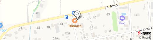 Тбилисо на карте Ленинавана