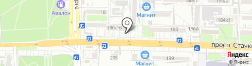 Malina Flowers на карте Ростова-на-Дону