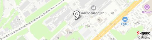 Электроаппарат на карте Липецка
