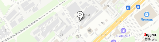 Вкусная лавка на карте Липецка