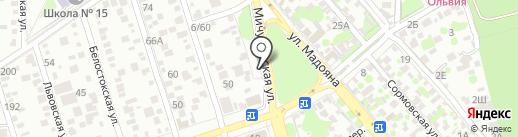 Пункт приема металлолома на карте Ростова-на-Дону