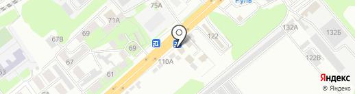 HTF на карте Липецка