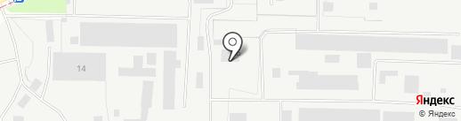Атлика Сервис на карте Липецка