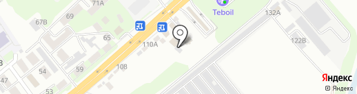 Пражский дворик на карте Липецка