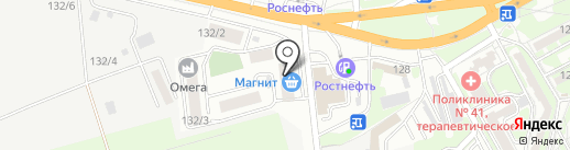 Военвед-Сити на карте Ростова-на-Дону