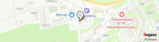 Сокол Моторс на карте Ростова-на-Дону
