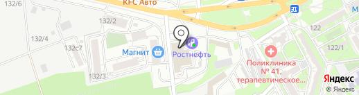 АвтоАрбитр на карте Ростова-на-Дону