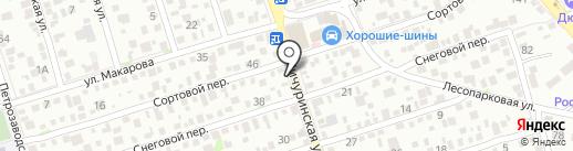 Пузыри на карте Ростова-на-Дону