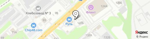 АЗС СитиОйл на карте Липецка