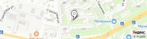 Галерея на карте Ростова-на-Дону