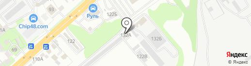 Total на карте Липецка