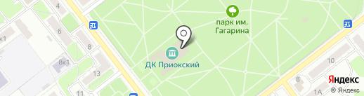 Партия Единая Россия на карте Рязани