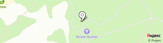 Лесная баня на карте Липецка