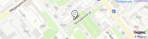 Адвокат Зинкин С. Б. на карте Рязани