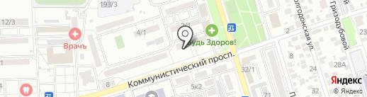 Лимончело на карте Ростова-на-Дону