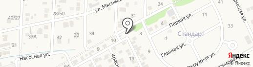 Петровский на карте Ленинавана