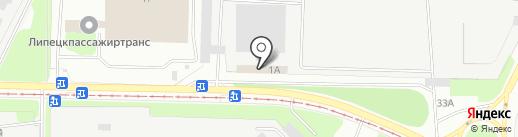 Руссметалл на карте Липецка