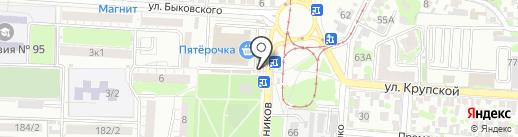 Киоск по продаже хозяйственных товаров на карте Ростова-на-Дону